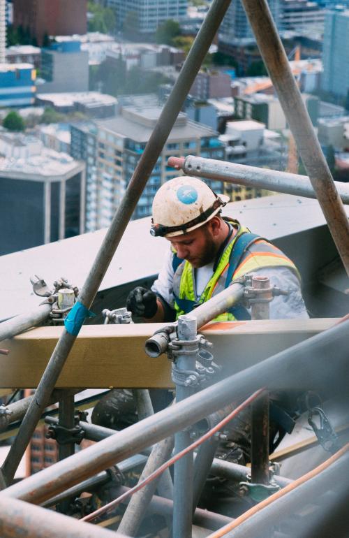 Stavebné práce vo výškach
