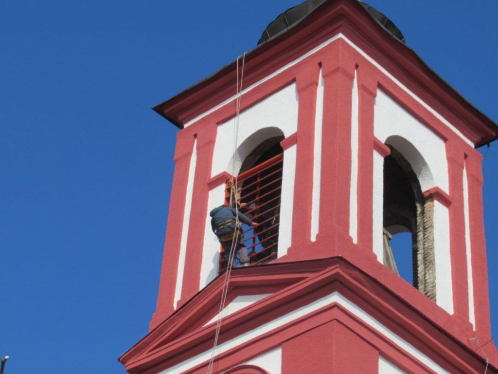 Rekonštrukcia kostola Kamenica nad Hronom