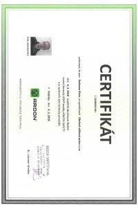 Revízie Kratos Safety - Certifikát pre Výškové práce s.r.o.